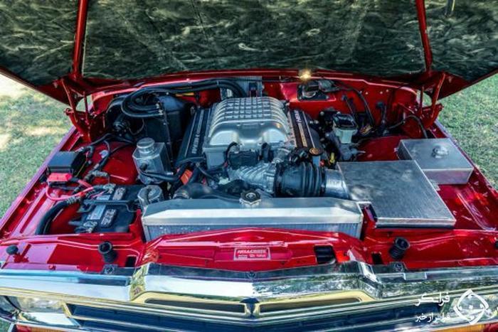 قلب هلکت در سینهٔ جیپ گرند واگنییر مدل 1989