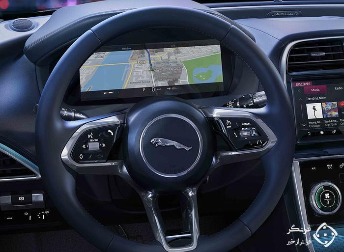 تجربه رانندگی با جگوار XE ریمز ادیشن جدید