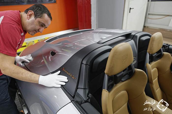 وداع آخرین نسخه از پورشه 911 نسل قبل با خط تولید