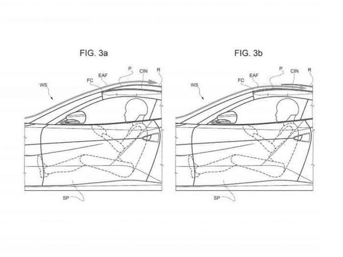 ثبت اختراع ستون میانی خودرو توسط فراری