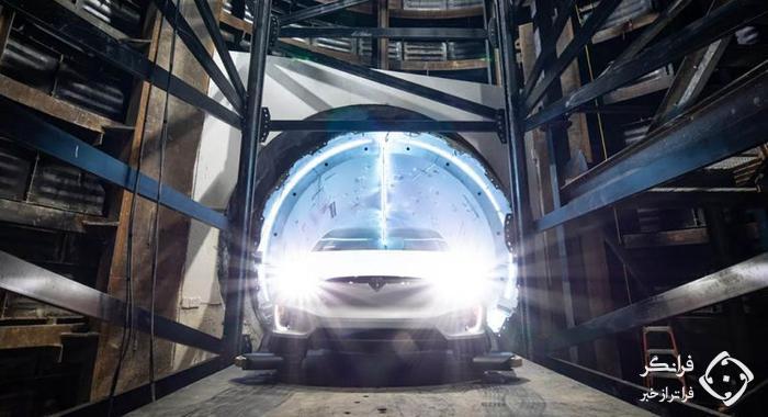 جاده های زیرزمینی ایلان ماسک فقط برای خودروهای الکتریکی!