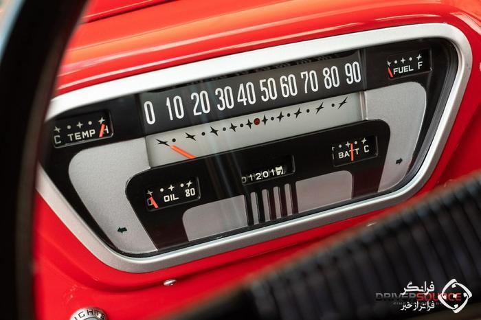 بازسازی دقیق و خیره کنندهٔ یک فورد F100 مدل 1953