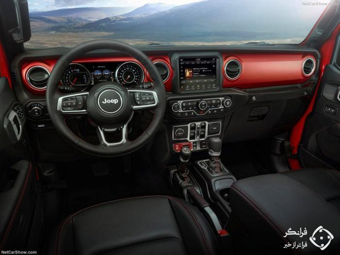 تجربهٔ رانندگی با جیپ گلادیاتور، باربری با چاشنی آفرود