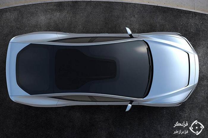 رندری جذاب از نسل جدید تسلا مدل S