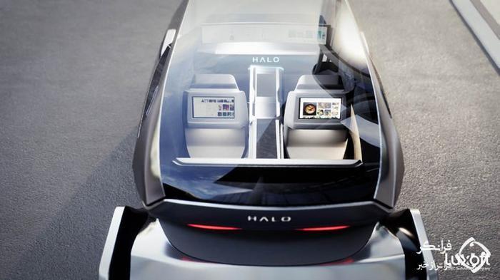لوکسافت هالو کانسپت، روبوتاکسی پیشرفته با ویژگی هایی جالب