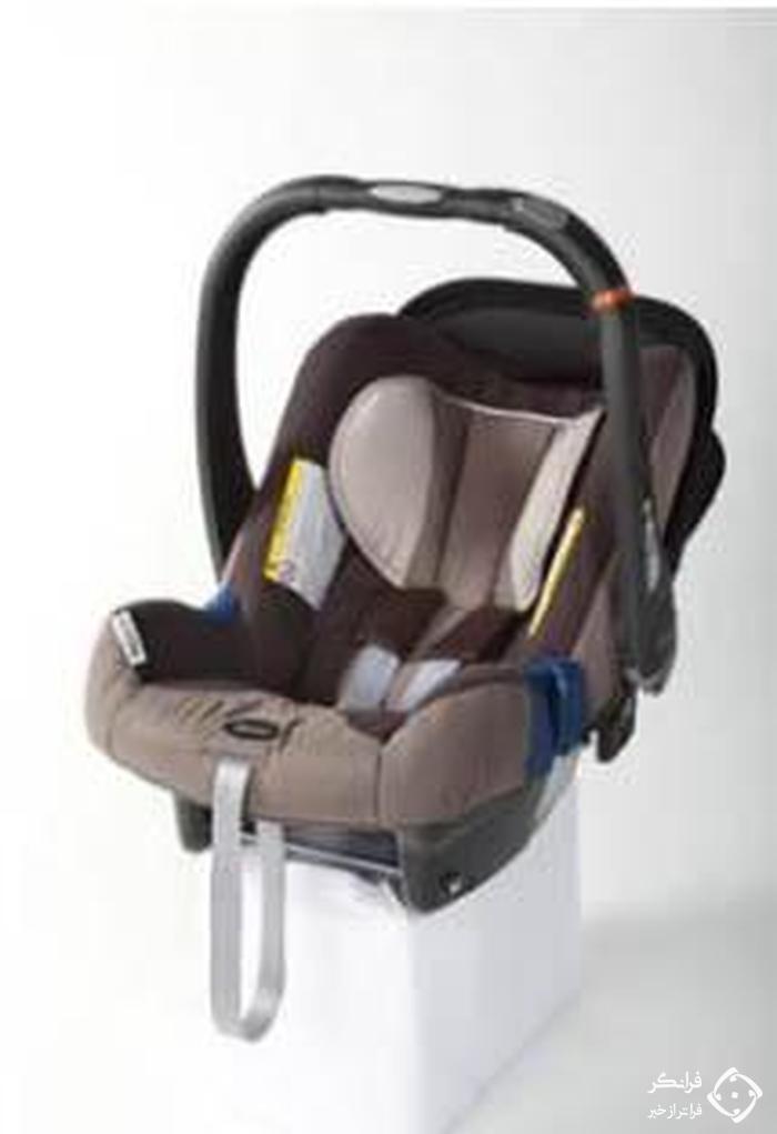 شکل 9. صندلی ایمنی کودک گروه صفر (و صفر پلاس)