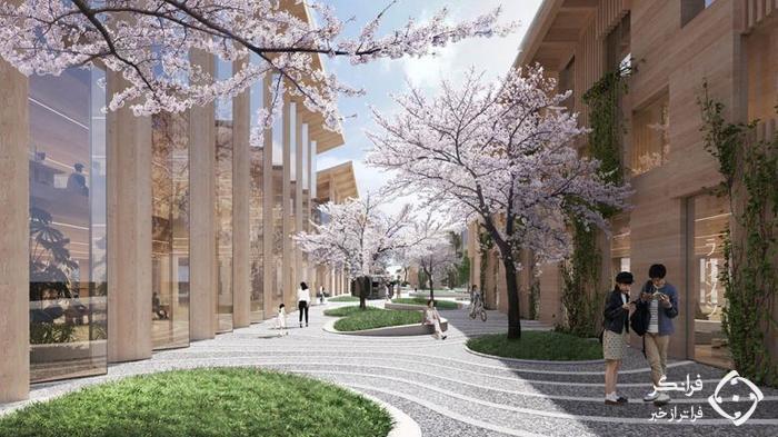 شهر جدید تویوتا در ژاپن برای دنیای آینده!