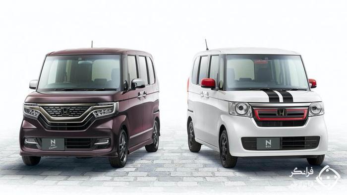 هوندا N-Box پرفروش ترین خودروی ژاپن در سال 2019