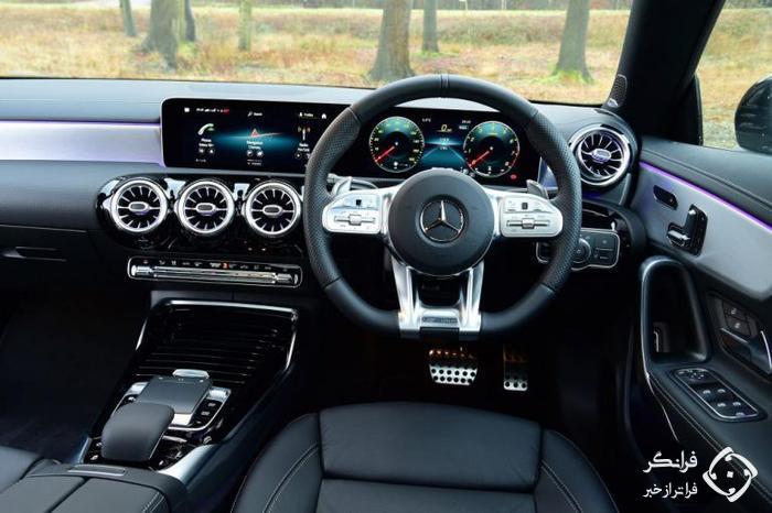 تجربه رانندگی با مرسدس-ای ام جی CLA 35 جدید