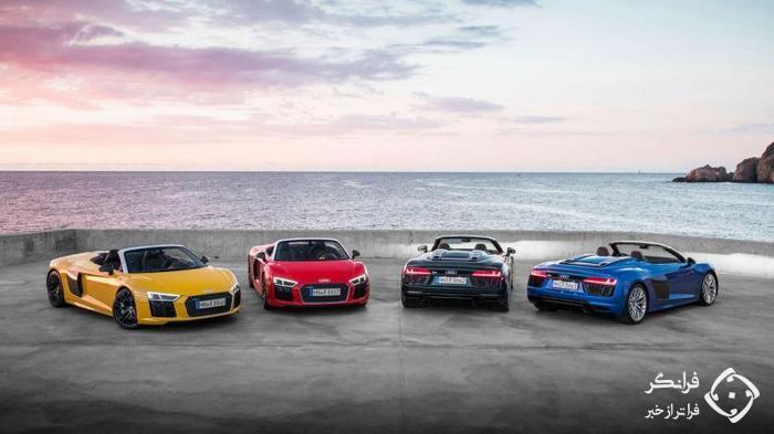 محبوب ترین رنگ خودروها در سال 2019