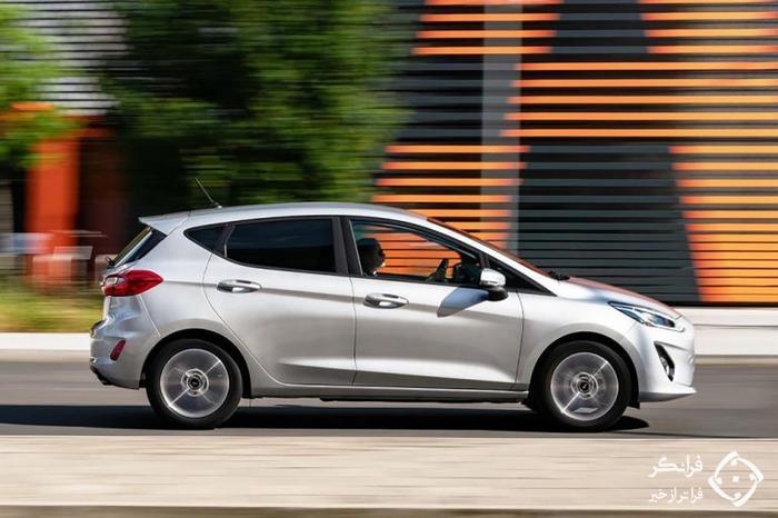 تجربه رانندگی با فورد فیستا ترند 2020 جدید