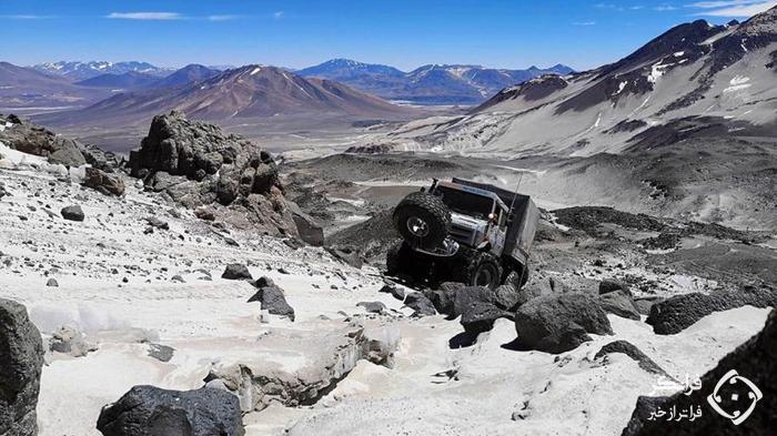 ثبت رکورد جدید ارتفاع توسط مرسدس یونیماگ