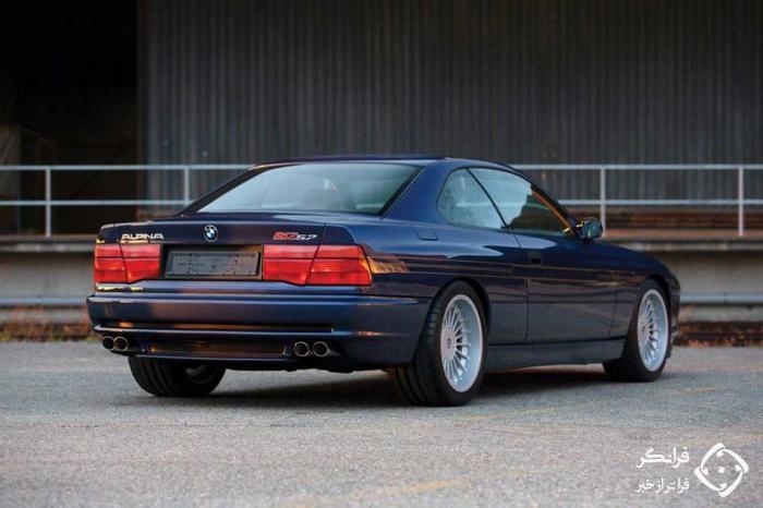 فروش یک ب ام و سری 8 آلپینا مدل 1993، باشکوه و خیره کننده