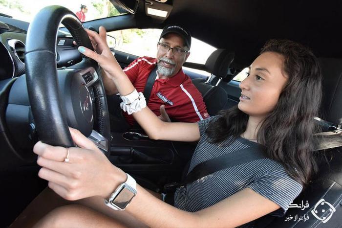 آموزش رانندگی رایگان فورد برای جوانان و نوجوانان
