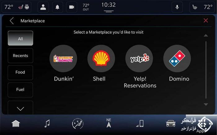 ویژگی های خیره کننده سیستم Uconnect 5 فیات-کرایسلر