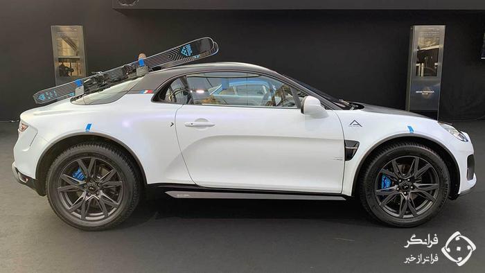 معرفی آلپاین A110 SportsX، خودروی اسپورت شاسی بلند نما!