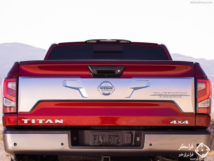 قیمت و مشخصات نیسان تایتان 2020 فیس لیفت