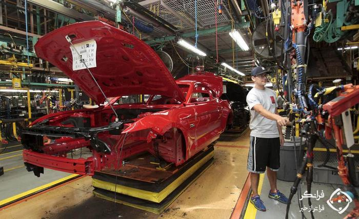 نگاهی به روند ساخت فورد  ماستنگ (GT) در کارخانه دیترویت آمریکا