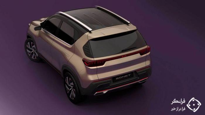 معرفی کانسپت جدید کیا سونِت در نمایشگاه خودروی هند