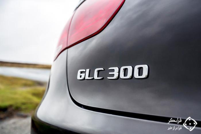 پشت فرمان مرسدس بنز GLC 300 کوپه جدید